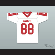 Hastings Ruckle 88 East Dillon Lions Football Jersey Friday Night Lights White