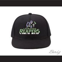 Leonardo Reapers Black Baseball Hat