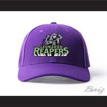 Leonardo Reapers Purple Baseball Hat