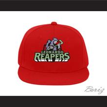 Leonardo Reapers Red Baseball Hat