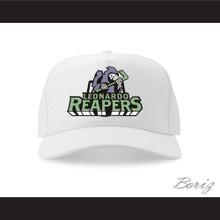 Leonardo Reapers White Baseball Hat