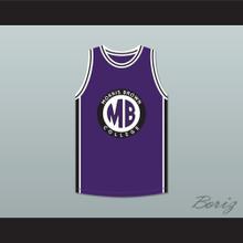 Martin Payne 23 Morris Brown College Purple Basketball Jersey