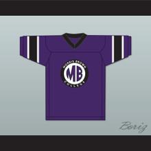 Martin Payne 23 Morris Brown College Purple Football Jersey