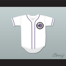 Martin Payne 23 Morris Brown College White Baseball Jersey