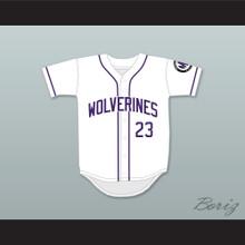 Martin Payne 23 Morris Brown College Wolverines White Baseball Jersey