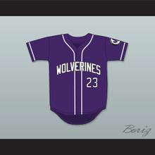 Martin Payne 23 Morris Brown College Wolverines Purple Baseball Jersey