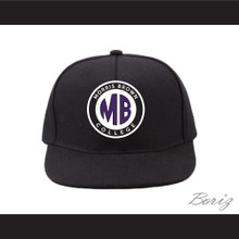Morris Brown College Black Baseball Hat