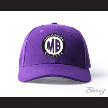 Morris Brown College Purple Baseball Hat