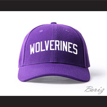 Morris Brown College Wolverines Purple Baseball Hat