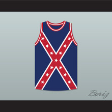 General E Kirby Smith 62 Army of the Trans-Mississippi Flag Basketball Jersey