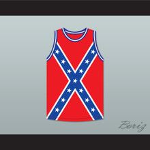 Southerner 63 Confederate Flag Basketball Jersey