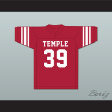 Bill Cosby 39 Temple Owls Red Football Jersey