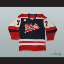 Mississauga Rebels Canada Black Hockey Jersey