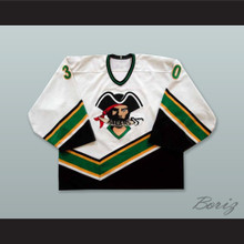 Aaron Sorochan 30 Prince Albert Raiders White Hockey Jersey