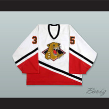 Marty Maurice 34 Prince George Cougars White Hockey Jersey