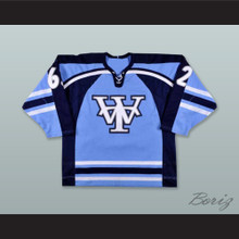 Alex Goupil 62 Wichita Thunder Light Blue Hockey Jersey