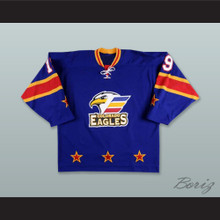 Joey Sides 19 Colorado Eagles Blue Hockey Jersey