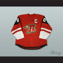 Ryan Walters 88 Rapid City Rush Red Hockey Jersey