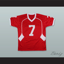 Case Keenum 7 Houston Cougars Red Football Jersey