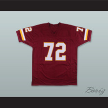 Dexter Manley 72 Washington Burgundy Football Jersey