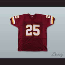 Joe Washington 25 Washington Burgundy Football Jersey