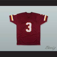 Mark Moseley 3 Washington Burgundy Football Jersey