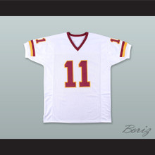 Mark Rypien 11 Washington White Football Jersey