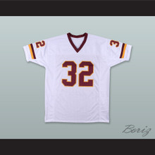 Ricky Ervins 32 Washington White Football Jersey