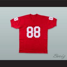 Keith Jackson 88 Oklahoma Sooners Crimson Football Jersey