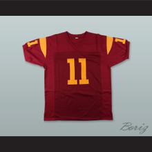 Matt Leinart 11 USC Trojans Red Football Jersey