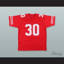Mike Rozier 30 Nebraska Cornhuskers Red Football Jersey