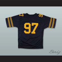 Cameron Jordan 97 California Golden Bears Navy Blue Football Jersey
