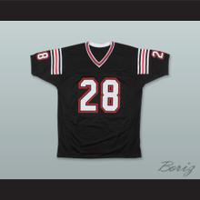 Marshall Faulk 28 San Diego State Aztecs Black Football Jersey