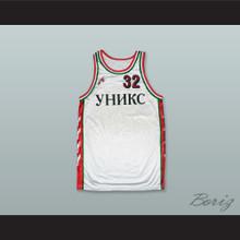 BC Unics Kazan White Basketball Jersey