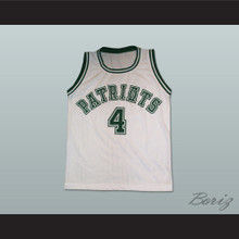 Chauncey Billups 4 George Washington High School Patriots Basketball Jersey
