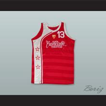 Red Star Belgrade Serbia Yugoslavia 13 Red Basketball Jersey
