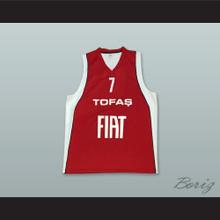 Nichols 7 Turkey Red Basketball Jersey