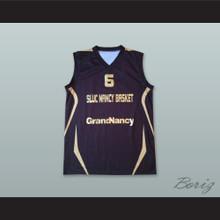 Kenny Grant 6 France Navy Blue Basketball Jersey