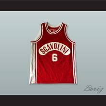 US Victoria Libertas Pallacanestro Scavolini 6 Red Basketball Jersey