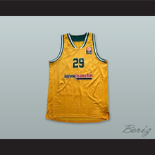 Limoges France 29 Yellow Basketball Jersey