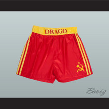 Dolph Lundgren Ivan Drago Rocky Movie Boxing Shorts