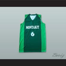 Ricardo Uriz 6 Montakit Fuenlabrada Spain Green Basketball Jersey