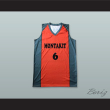 Ricardo Uriz 6 Montakit Fuenlabrada Spain Orange Basketball Jersey