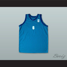 Velimir Perasovic 6 Baloncesto Fuenlabrada Teal Basketball Jersey