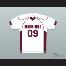 Liam Dunbar 09 Beacon Hills Cyclones Lacrosse Jersey Teen Wolf White