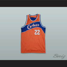Cardozo Judges 22 Orange Rucker Park Basketball Jersey