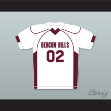 Vernon Boyd 02 Beacon Hills Cyclones Lacrosse Jersey Teen Wolf White