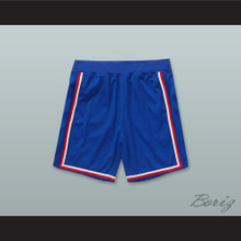 Blue White and Red Basketball Shorts