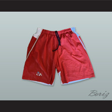 Fresno State Bulldogs Red Basketball Shorts 2