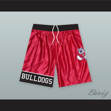 Fresno State Bulldogs Red Basketball Shorts 3